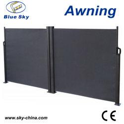 Populaires de l'aluminium double côté Rétractable Auvent700-2 (B)