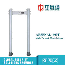 255 Nível à prova de Sensibilidade do Detector de Metal com sistema de armazenamento em nuvem