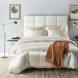 3 pieza de ropa de cama de seda satén edredón nórdico