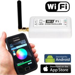 Intelligente MiniRGB/Cct/Dim WiFi HOOFDControlemechanisme voor Ios Androidor van het LEIDENE van het Systeem Ce RoHS, Garantie Controlemechanisme van WiFi