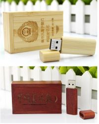 Деревянные флэш-накопитель USB Memory Stick Pen деревянные конструкции с логотипом USB