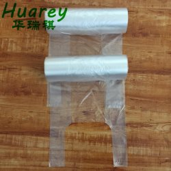 Pehd LDPE LDPE/пластиковый пакет Clear Майка перевозчика продукции футболки на рулон для фруктов