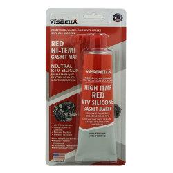 Rouge haute température RTV Silicone d'étanchéité du joint en caoutchouc pour l'auto
