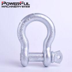 Forgée en acier galvanisé G209 électrique de la vis de l'anse pour le levage de la broche Bow