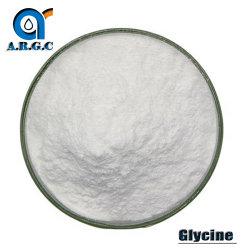 Alimento alla rinfusa della polvere della glicina, alimentazione & glicina cumulativa CAS 56-40-6 della materia prima della bevanda