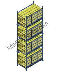耐久財およびShippableの多重レベルファブリックはFoldable鋼鉄パレットを転送する