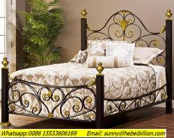 Estrutura da cama de ferro forjado cama de casal King Size/cama de solteiro/Bund Bed
