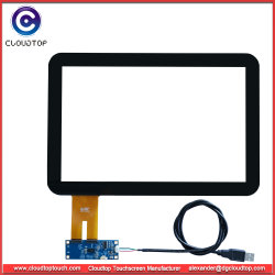 Personalizado La pantalla táctil de 12,1 pulgadas (16: 10) para el Panel PC Industrial