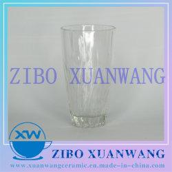Stich-Glascup-Blatt geprägtes Glasware-Saft-Tee-Cup