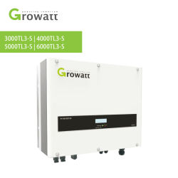 Solaire Growatt onduleur sur réseau de convertisseur de puissance électrique 3000W 4000W 5000W 6000W avec système d'énergie solaire de l'onduleur Meilleur prix