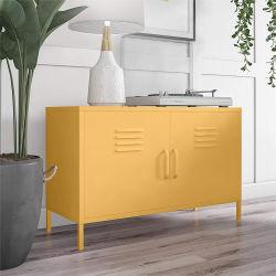 Casa con muebles modernos Hotel Soporte de TV Presentación del gabinete de almacenamiento de acero