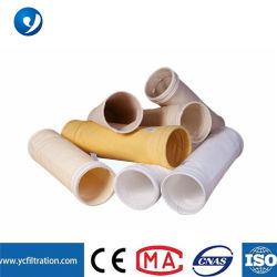 El agua y repelente de aceite de poliéster bolsa de filtro de membrana de PTFE para planta de acero de cemento de colector de polvo del filtro de bolsa