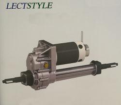 24 В 400W-500W-800W электрический двигатель коробки передач на тележку с электроприводом и электрического подъема тележки