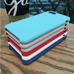 Новые поступления Custom роскошь ткань из микроволокна следующих цветах: бархатно жидкость силиконовый чехол для телефона iPhone 6 7 Plus