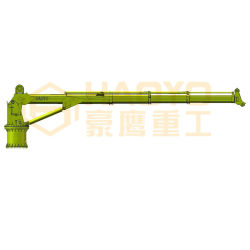 Haoyo hydraulischer teleskopischer Plattform-Kran-Preis für Verkauf