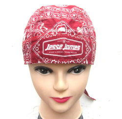 Soem passte Lappenbandana-Schutzkappe Entwurfs-Druck-Motorrad-im Freiensport-Paisley-Headwear Doo an
