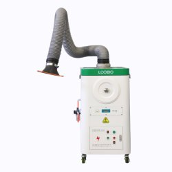 Extractor de fumos de fumaça de Solda portátil Hottes móveis Sistema Rastreador