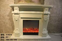 Mantel de madera blanca de estilo europeo, la decoración del hogar