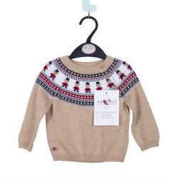 Disegni di lana del maglione dei bambini personalizzati alta qualità all'ingrosso per i bambini