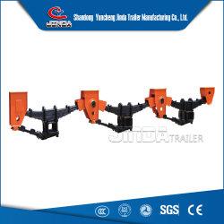 Usine de pièces de remorque à l'exportation de la suspension mécanique de la suspension pneumatique semi-remorque pour la vente de la suspension de direction