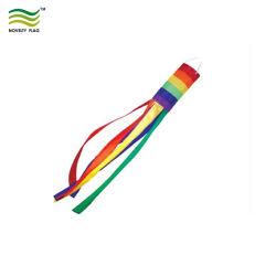 ポリエステルファブリック虹のWindsocksを広告しているOEM