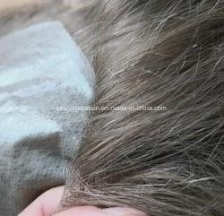 Mas Natural Extra Delgado poli piel sistemas de cabello hecho personalizado