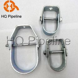 La abrazadera del tubo giratorio eléctrico de acero de bucle giro fabricante colgador
