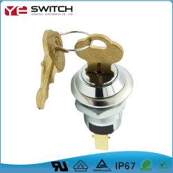 إيقاف تشغيل كهربائي عالي الجودة على مفتاح التشغيل بمفتاح مزود شهادة UL