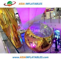 Espejo gigante espejo de la seda de globos de aire personalizado Decora la bola