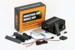 4CH Mdvr жесткого диска с помощью GPS 3G WiFi поддерживает воспроизведение Cmsv6 Mobile DVR с кнопка вызова скорой помощи