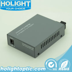 Gigabit Ethernet Óptica Media Converter.