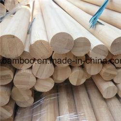 Bastoni rotondi di bambù solidi per il pattino pali di bambù e la pianta di sostegno
