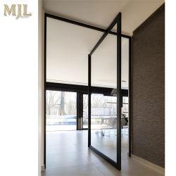 تصميم مبنى جديد مدخل من نوع المحور باب مع زجاج مقسّى