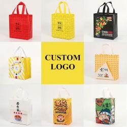 선물 가방, 토트백, 쇼핑 백, 판촉 와인 백, 도매 친환경 저가 직물 강한 핸들 브랜드 재봉제 비 우븐 패브릭 백