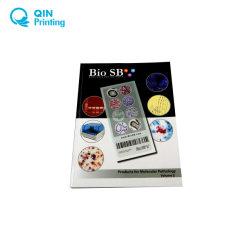 Catálogo de alta calidad de impresión de la muestra de negocios