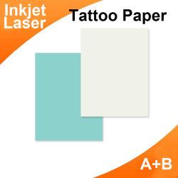 Персональные струйные водонепроницаемый Tattoo наклейки (A+B) A4 для струйной печати Tattoo наклейки
