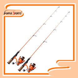 Größe von 24 '' 6 '' zum festen Leerzeichen-Eis Rod des Kohlenstoff-1PC und zum Bandspule-Fischen kombiniert