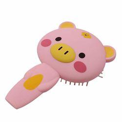 Cute Piggy Cartoon massage coussin d'air Comb cute portable brosse à cheveux magnifique créatif