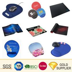 Fördernder Geschenk-Zoll druckte Gel-Gummispiel-Mousepad kundenspezifische Silikon des Firmenzeichen-3D weiche Handgelenk-Rest-Spiel-Spiel-Computer-Sublimation-Drucken-Mausunterlage Belüftung-EVA