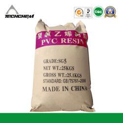 O plástico matérias-primas resina PVC SG5 K67 Preço