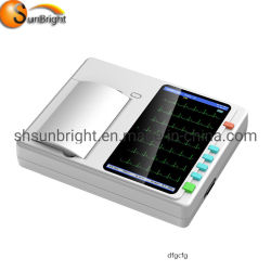 Портативные ручные 6-канальный ЭКГ монитора машины
