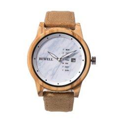 شعار مخصص ساعة يد فاخرة من الخشب شاهد الرجل النبيل
