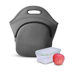 Lunch réutilisables de haute qualité unisexe Tote néoprène étanche thermique isolé des sacs pour la mère sur le bureau avec une poignée souple