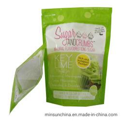 Stand up sac en plastique pour l'emballage alimentaire avec Ziplock