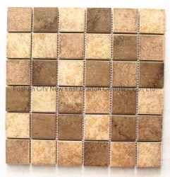 Antikes keramisches Mosaik-Fliese-antikes Mittelmeerdrucken deckt Küche-Balkon-Badezimmer-Wand-Fliesen und Fußboden-Fliesen mit Ziegeln
