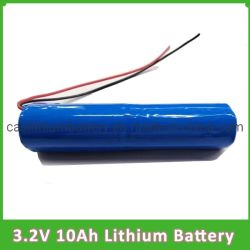 緊急時ランプのための長い時間のサイクル3.2V 10ahのリチウム電池