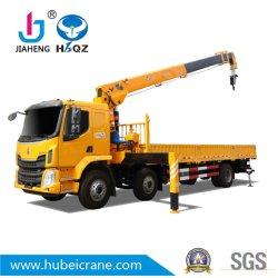 Fabbricato in Cina HBQZ 10 Ton braccio telescopico camion mobile Gru cargo Dongfeng SQ10S4 sollevamento materiale da costruzione camion gommati strumento