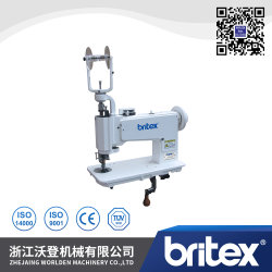 Br-10-2 Manejar el funcionamiento de la máquina de bordado Chain-Stitch