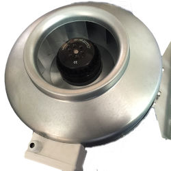 De professionele AC van de Snelheden van de Vervaardiging Veranderlijke Gealigneerde Ventilator van de Buis