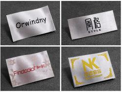 Etiqueta de tecidos personalizados Etiqueta para roupas